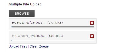 Uploadify Screen Demo
