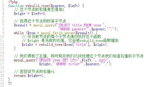 无限分类的程序(数据库设计) - isblog - isblog主页