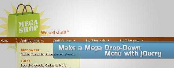 mega-drop-down-multi-level-menu-navigation