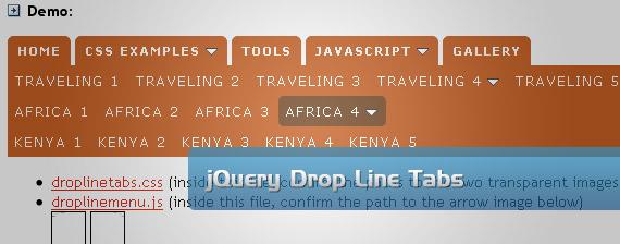jquery-tabs-drop-down-multi-level-menu-navigation